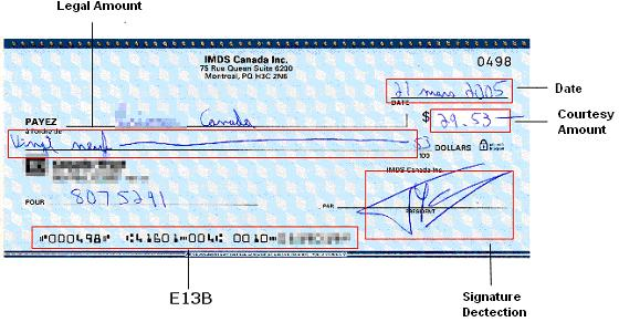 how to send a cheque td