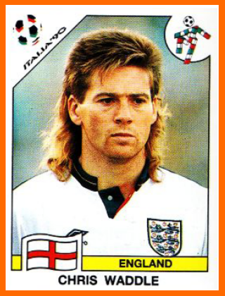 Chris+Waddle+panini+1990