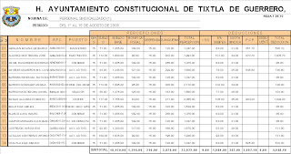 Containfo Nomina Y Tabla Dinamica En Excel