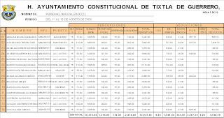 containfo nomina y tabla dinamica en excel On tabla de nomina en excel