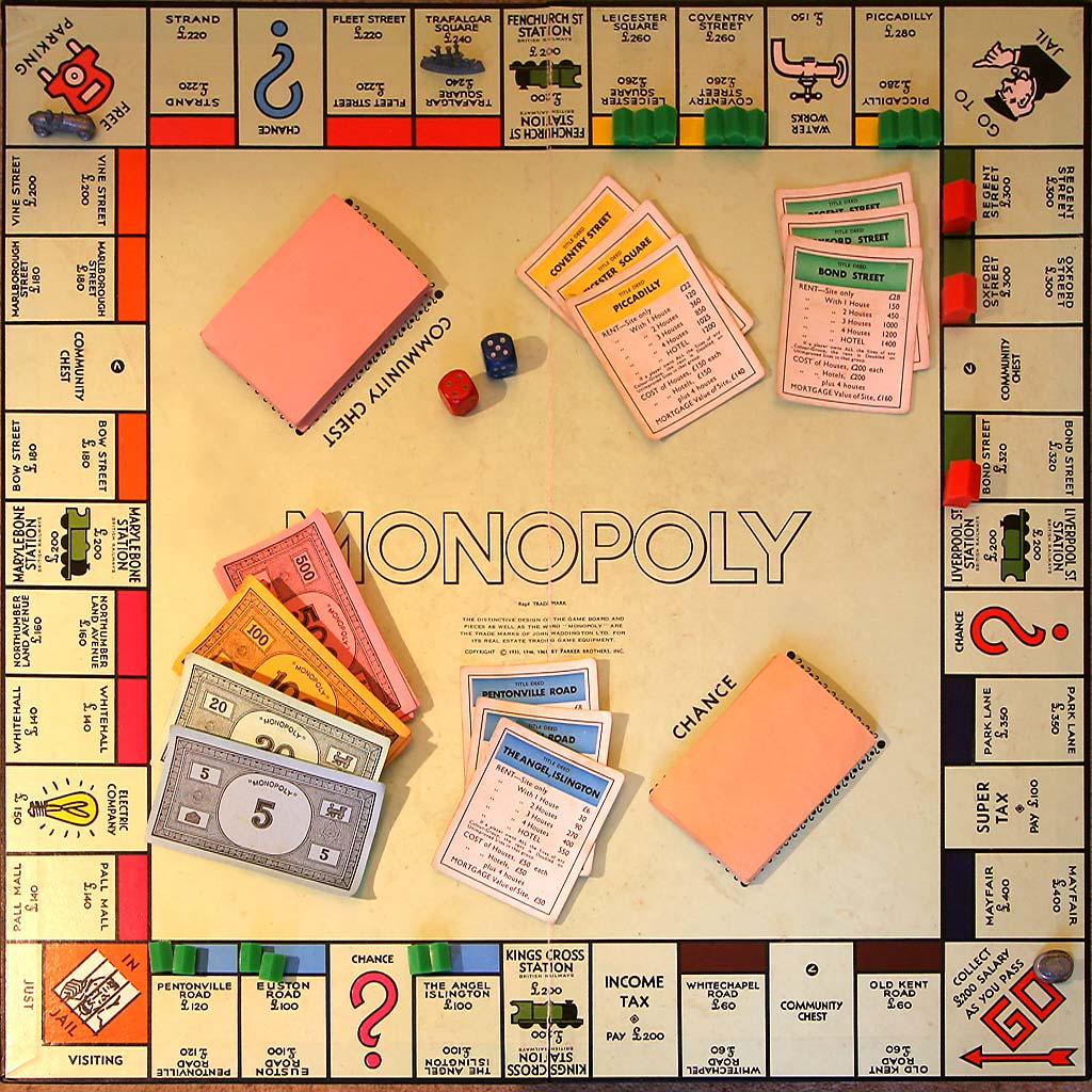 the monopoly Under the boardwalk: the monopoly story is an emmy® award-winning  documentary about the game of monopoly, those who play it, and how the game  has.
