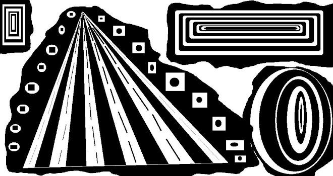 Pirámides, círculos y rectángulos