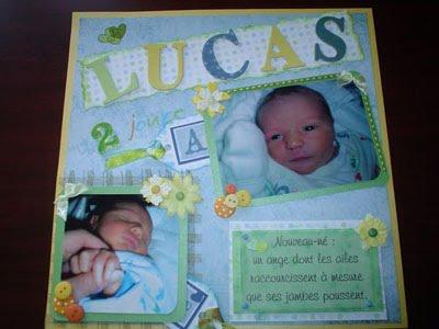 Lucas - 2 jours