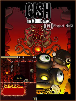 game gish landscape touch screen game mobile nokia lg samsung free