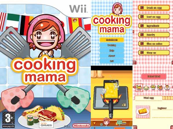 Cooking mama Touch Screen Game NOKIA / LG / SAMSUNG Free Download