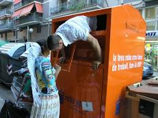 La vida en un contenidor