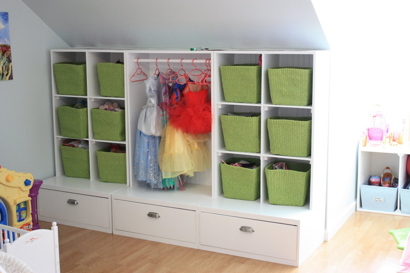 Trey and abby my playroom storage solution - Rangement enfant ikea ...