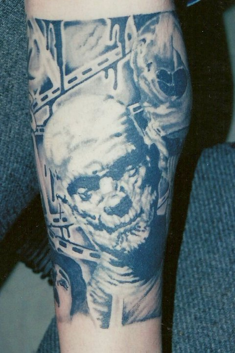 Horror Movie Tattoos By Blen 167