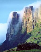 O Monte Roraima tem 2.875m de altidude.