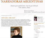 """BlOG / María Teresa Andruetto """"Narradoras Argentinas"""""""