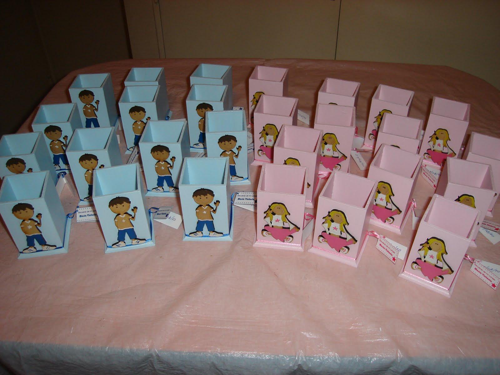 Souvenirs Lapiceros para nena y varón