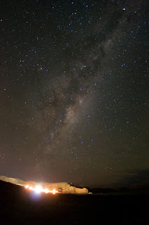 The Milky Way is too important to Pay attention to anything else in Valdes Peninsula