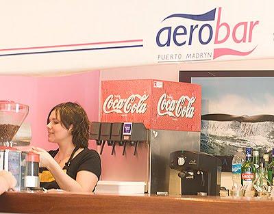 Aerobar en el Aeropuerto Tehuelche Puerto Madryn Península Valdés