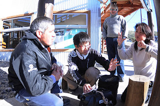 Our Guests, TBS Vision from Japan in Valdes Peninsula Patagonia