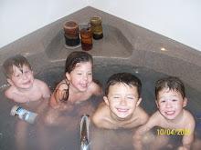 Crowded Tub!