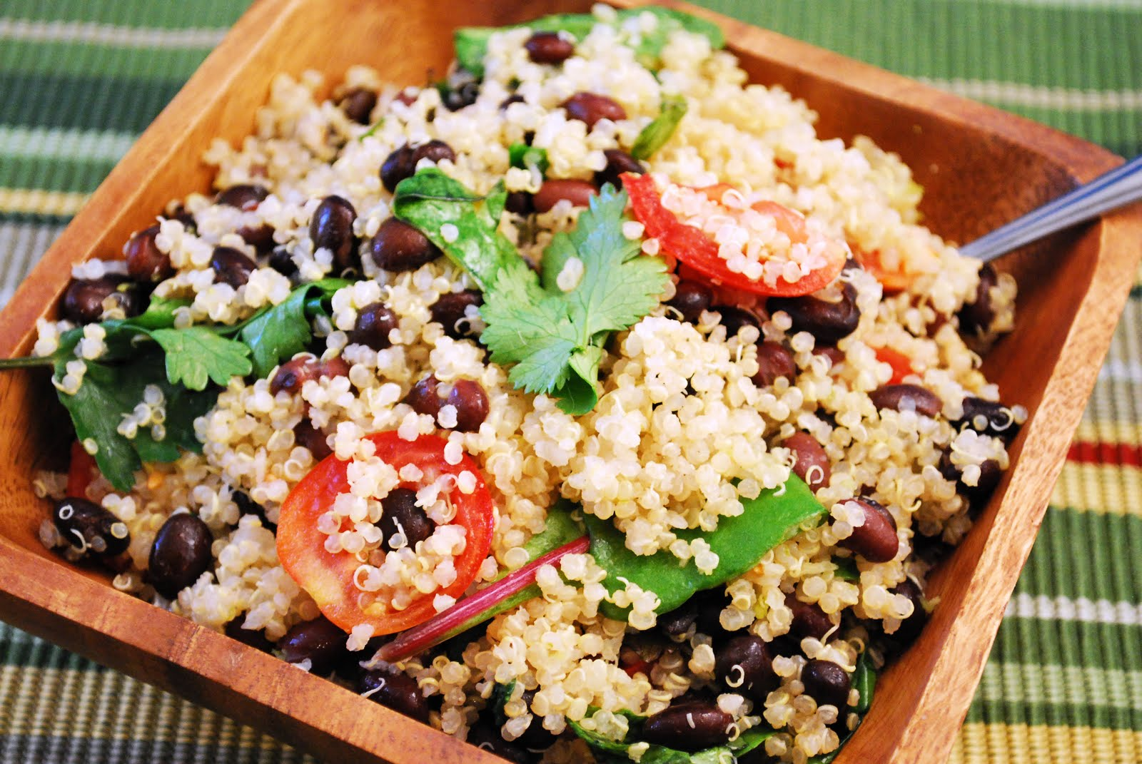 Black bean and tomato quinoa. | Recipes | Pinterest
