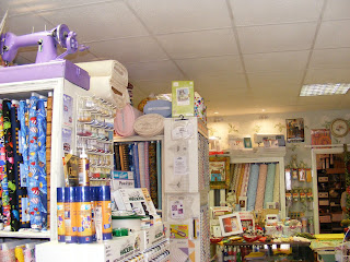 Well stocked sewing and yarn shop Sew Enchanting
