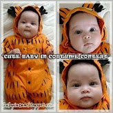 Cute Baby in Costume Contest