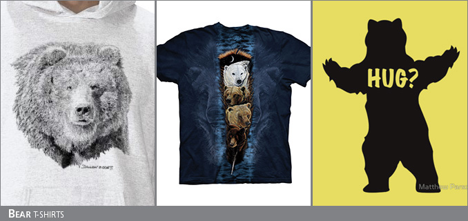 Bear t-shirts