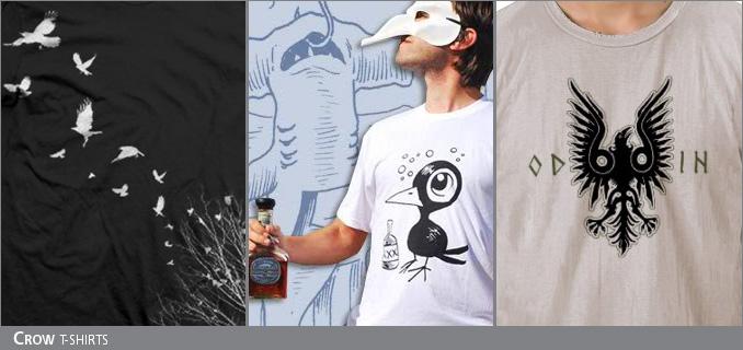 Crow t-shirts