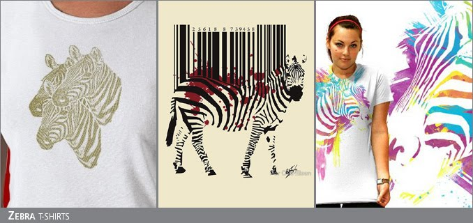 Zebra t-shirts