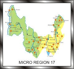 MUNICIPIOS MICROREGIÓN 17 BOYACÁ