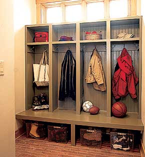 How to build Mudroom Locker System - DoItYourself.com ...