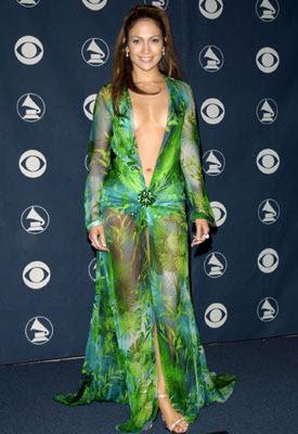 jenifer lopez 2003 vestido: