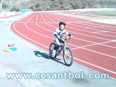 entrneo infantiles ciclismo invierno