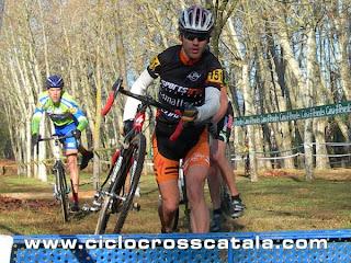 Campionat Catalunya ciclocross veterans Miquel Bort