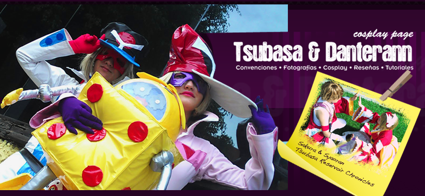 Tsubasa y Danterann Cosplay page