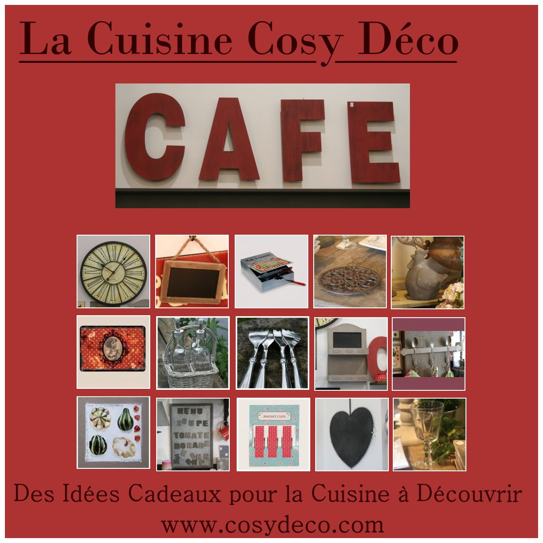 Cuisine une d coration style campagne for Cuisine style cosy