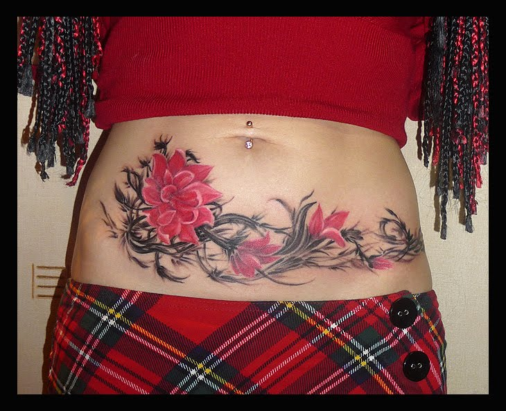 If you do not know yet flower tattoo art is closely associated with
