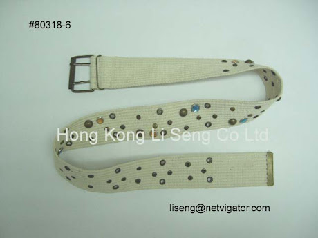 Sell Canvas Belt - On Stock