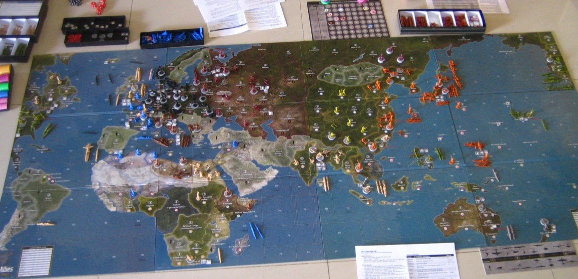 Axis & Allies Europe 1940 | Strategy | Forum | BoardGameGeek