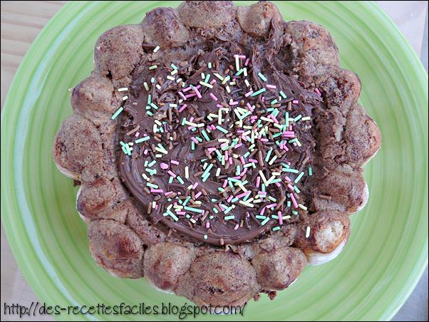 Des recettes faciles charlotte au chocolat - Recette charlotte chocolat facile ...