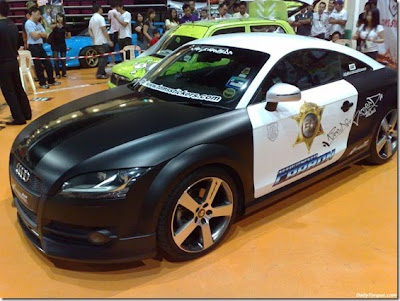 Extreme Modifications Policy Car Concept