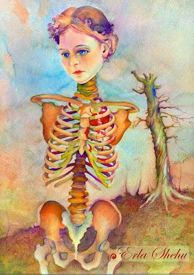 Bota e Femres Skeletgirl+1
