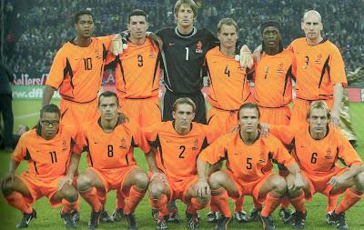 Camisetas Seleccion Holanda - Diseño