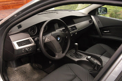 BMW 5 Series e60 interior
