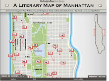 Literary Map of Manhattan