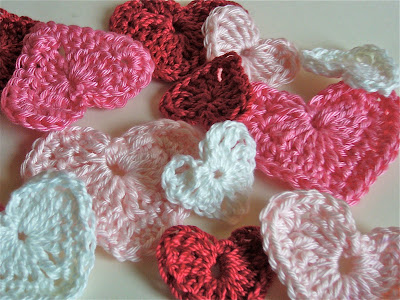 Crochet A Heart : how to crochet a heart Little Birdie Secrets