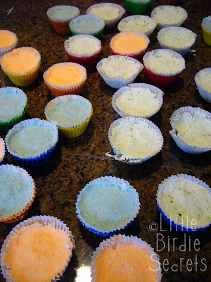 Making Fizzy Bath Bomb Cupcakes