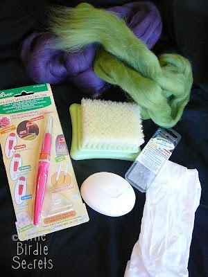 how to make wool felted soap little birdie secrets. Black Bedroom Furniture Sets. Home Design Ideas