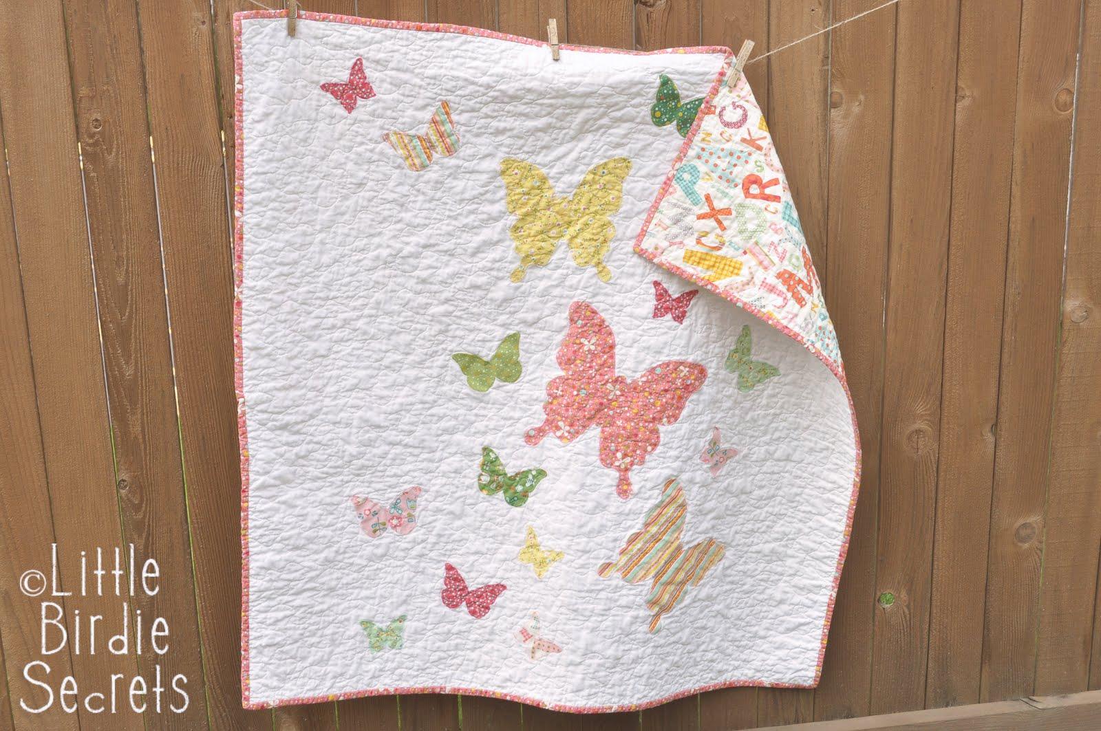 how to free motion quilt - stipple pattern video | Little Birdie ... : stippling a quilt - Adamdwight.com