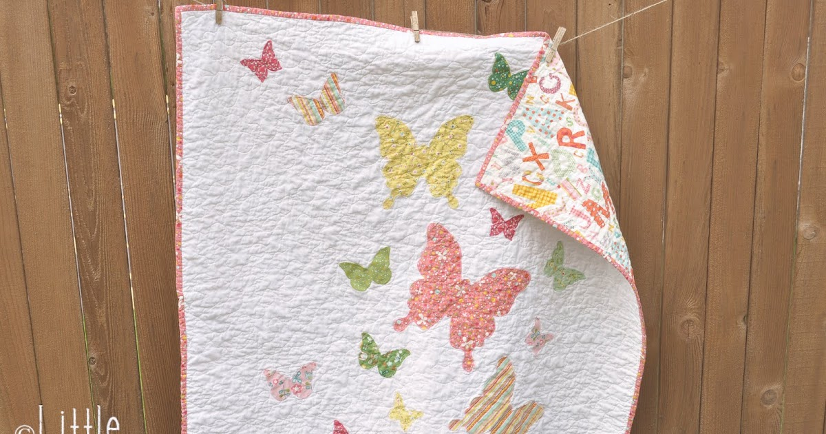 how to free motion quilt - stipple pattern video Little Birdie Secrets