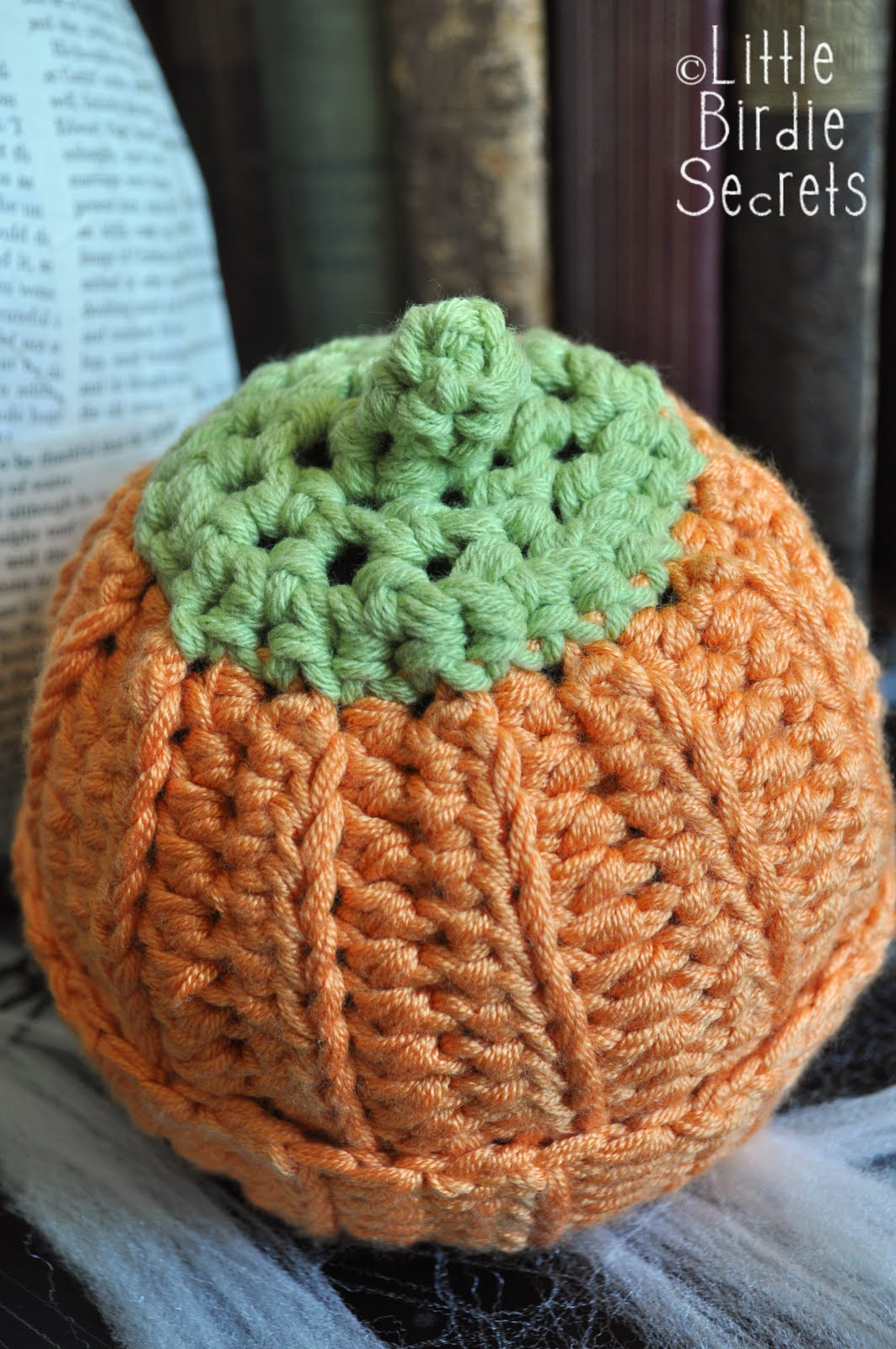 3b66a97fbe2 pumpkin or berry baby hat - crochet pattern