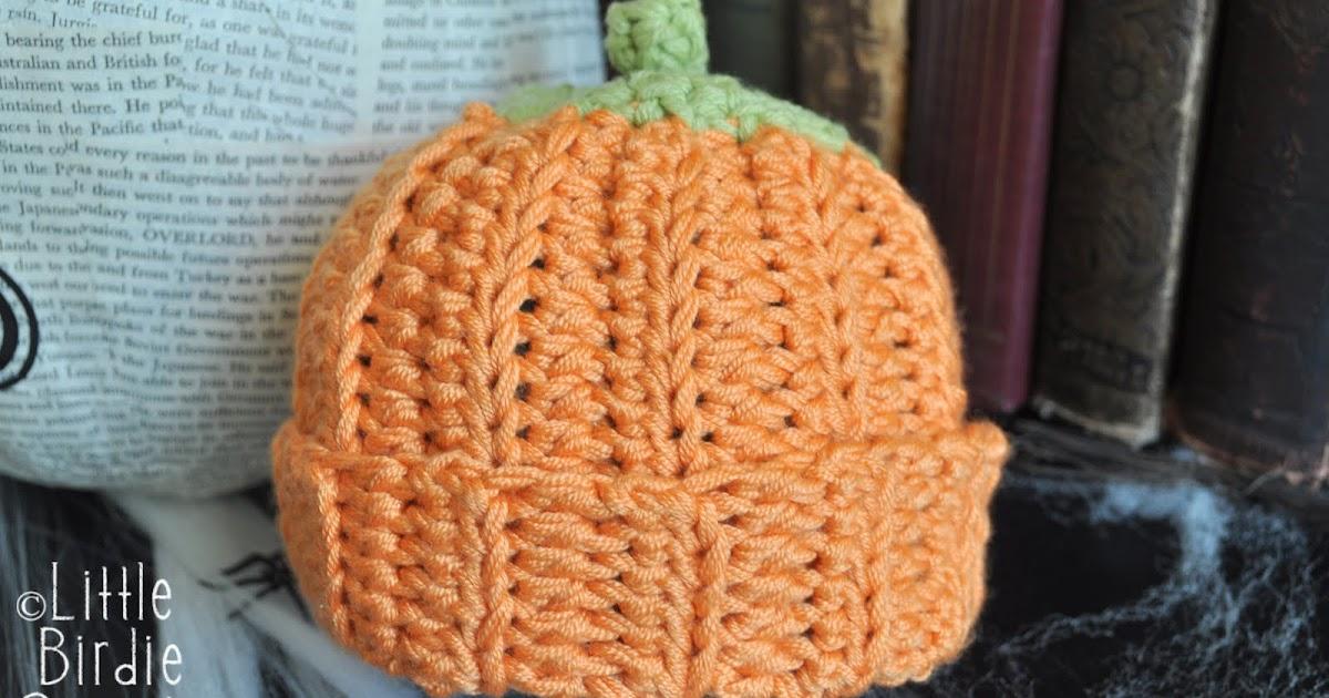 Pumpkin Or Berry Baby Hat Crochet Pattern Little Birdie Secrets