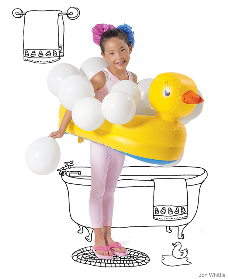 And this snowball costume is adorable!  sc 1 st  Little Birdie Secrets & no-sew Halloween costumes   Little Birdie Secrets