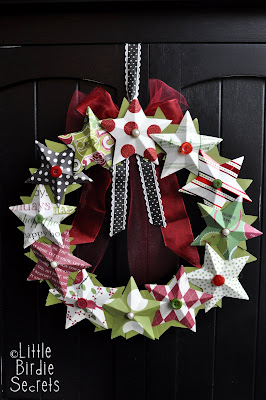 3D%2Bpaper%2Bstar%2Bwreath%2Bhow%2Bto%2Bmake Let the Holiday Decorating Begin!